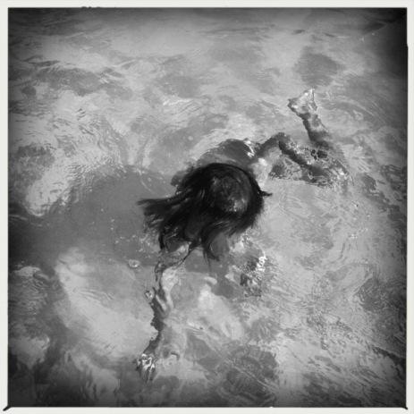 Me convierto en agua. - Foto de Iara Vega