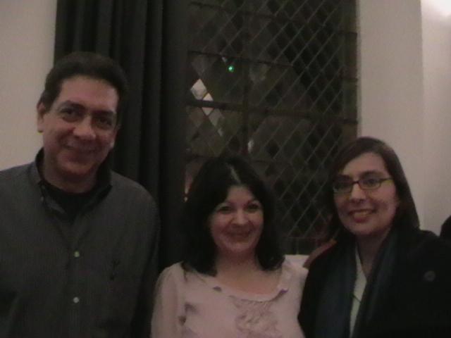 Roberto matinez, presidente de la asociación y Jeaneth Matltez  ambos originarios de Matagalpa.