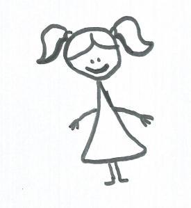 Dibujo de Marie Matagne-Etrada